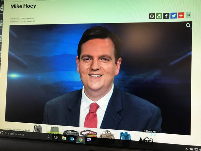 Mike Hoey's bio on the Fox 44/ABC 22 website.