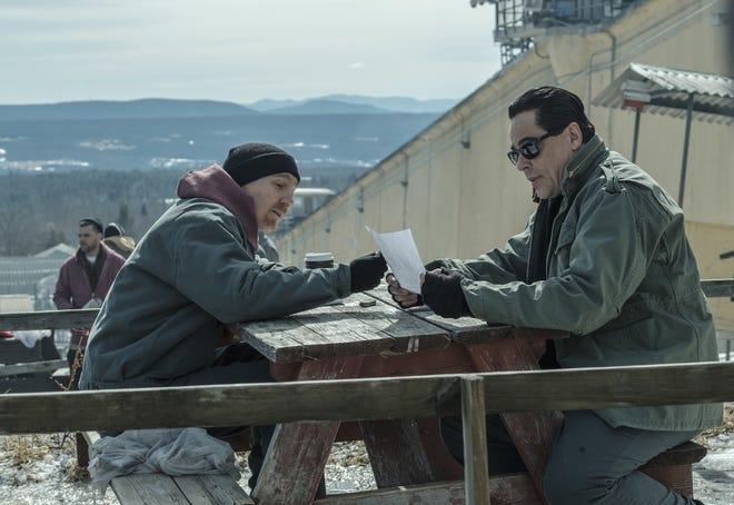 "Paul Dano portrays David Sweat and Benicio Del Toro is cast as Richard Matt in ""Escape at Dannemora,"" the Showtime series produced and directed by Ben Stiller."