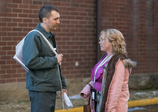 "Paul Dano is David Sweat and Patricia Arquette portrays Joyce ""Tilly"" Mitchell in ""Escape at Dannemora,"" the Showtime series produced and directed by Ben Stiller."