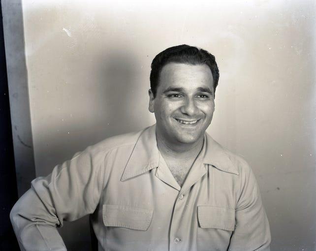 Jeweler Joe Salem, Aug. 18, 1950.