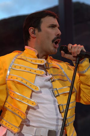 Killer Queen rocks the Scottish Rite just as Queen fans head to the movie to watch 'Bohemian Rhapsody,' the film about Queen  frontman Freddie Mercury.
