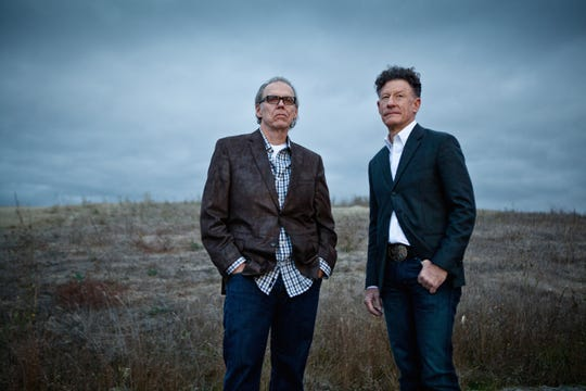 'Lyle Lovett & John Hiatt: An Acoustic Evening' returns to Collingswood in February.