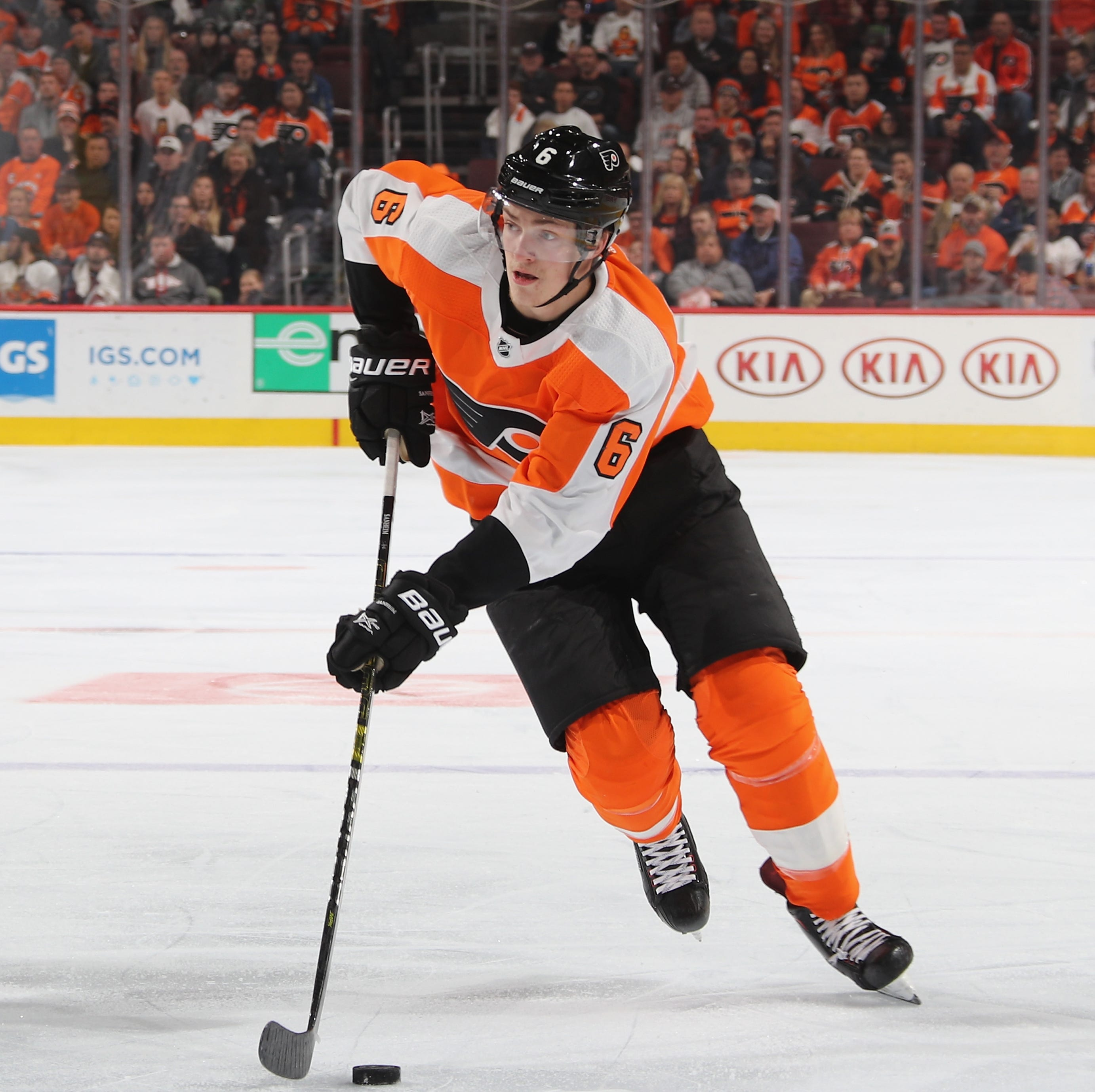Travis Sanheim still emerging for Flyers, but 'nowhere near where I want to get to'
