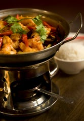 Dry Pot Shrimp is a don't-miss choice at Han Dynasty in Cherry Hill.
