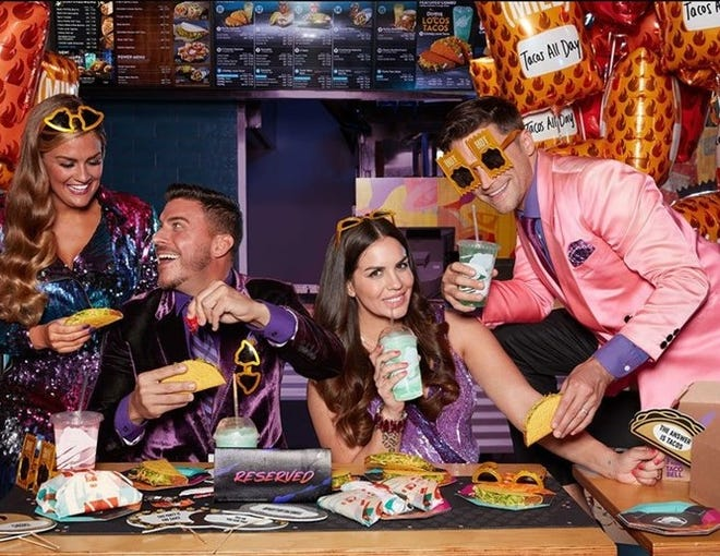 "This photo from the Taco Bell web site shows what the eatery plans for a ""Party by Taco Bell"""