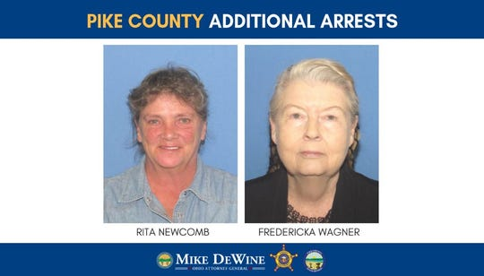 Rita Newcomb and Fredericka Wagner charged in coverup.