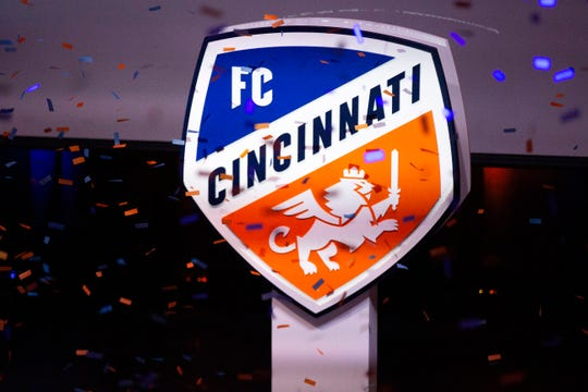 FC Cincinnati's new MLS branding.