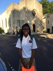 Gabriella Robinson of Piscataway, a freshman at Mount Saint Mary Academy, has earned her Girl Scout silver award for her Take Action Project.