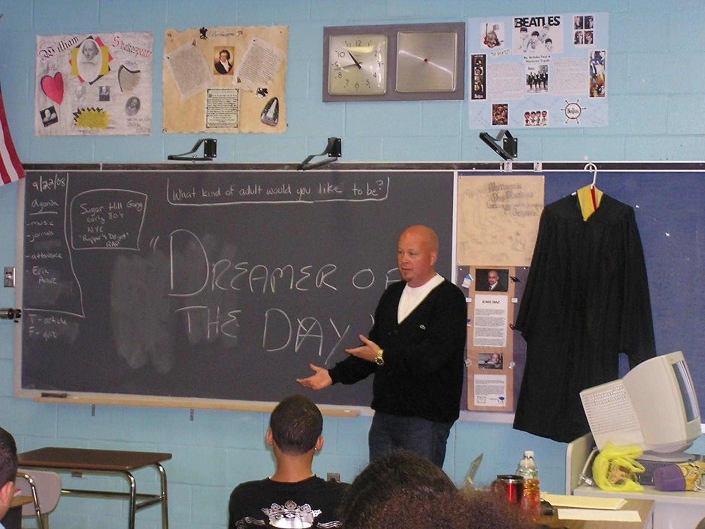 """Eric Arauz suddenly died at the age of 47 in March. His death sent shock waves through his friends, family and his widespread professional community in the mental health, drug advocacy and veterans' supportworlds. Arauz'sgood friend, Frank Greenagel of Piscataway, himself a specialist in grief therapy, needed a way to deal with his own grief. To cope, Greenagel wrote about Arauzevery day for 30 days, sharinghis stories and photographs on social media. Others followed suit and soon a book - """"The Book of Eric"""" - was created."""