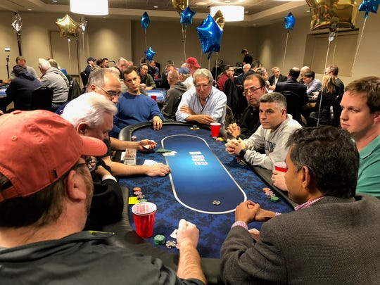 The Shimon and Sara Birnbaum JCC in Bridgewater recently held its Annual Texas Hold 'em Tournament. The event raised more than $14,000 for JCC Special Needs programs. The JCC offers a variety of special needs programs including The JZone Respite Program for elementary age children ages 5 to 16, JCares Adult Internship Program, JConnect Social Programs for Adults, JSquad Teen Social Club, Adaptive Aquatics Skills Program and the Rising Tide Special Olympics Swim Team. The JCC Blaustein Early Childhood Center, JCC Camp Ruach and J-Crew After School Program work with families with children with special needs. The JCC offers adjusted schedules and one-on-one assistance. Contact Ellie Willoughby, JCC Special Services director, at 908-443-9029; EWilloughby@ssbjcc.org.