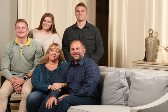 Brian Lohse of Bondurant and his family pose for a photo. On Nov. 6, Brian Lohse was elected to Iowa House District 30.
