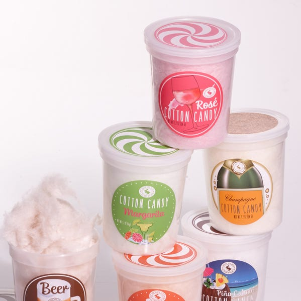 Neiman Marcus is featuring flavored cotton candy from local candy shop Chocolate Storybook in its stores.