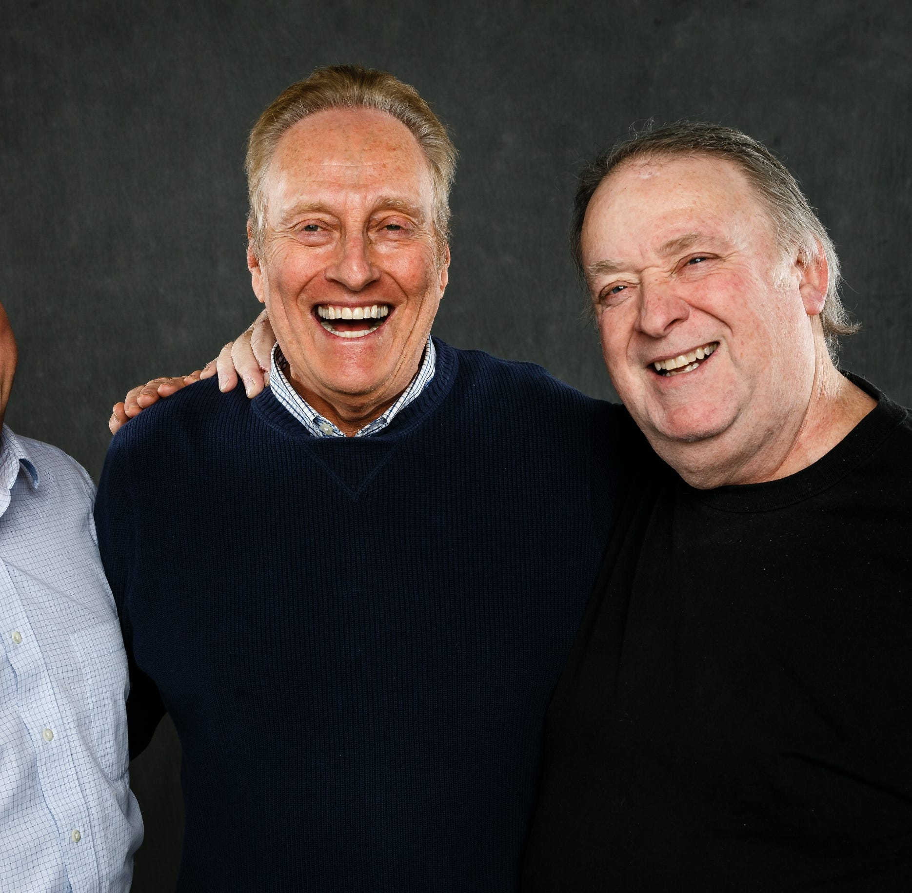 Des Moines radio legends Lou, Larry and the Round Guy reunite for an exclusive podcast
