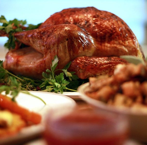 How does the cost of Thanksgiving dinner in St. Cloud compare to the national average?