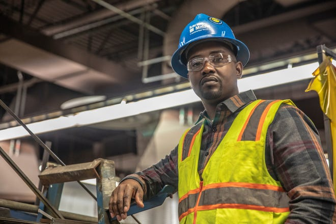 Octavous Crosby, is a construction superintendent with Barton Malow.