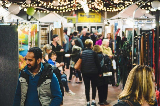 You can do some early holiday shopping at the Royal Oak Market: Art Fair Edition.