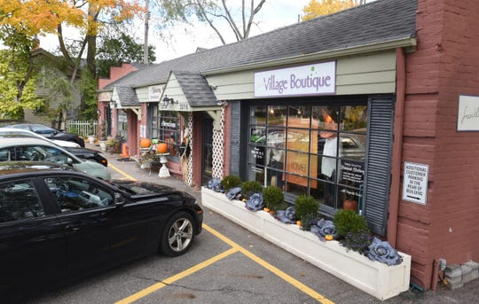 The shops in Franklin Village Plaza have had problems with potentially toxic fumes emerging from buried underground solvents that can cause public health and environmental concerns.