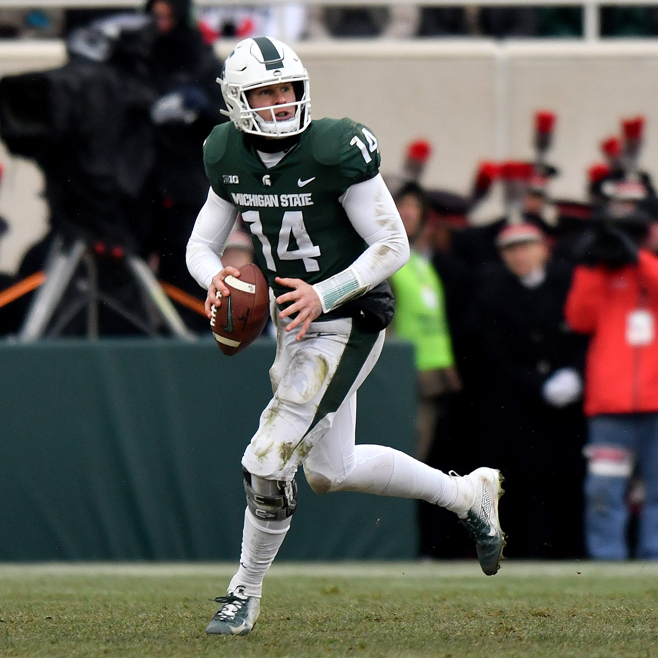 Lewerke or Lombardi? Michigan State quarterback question persists