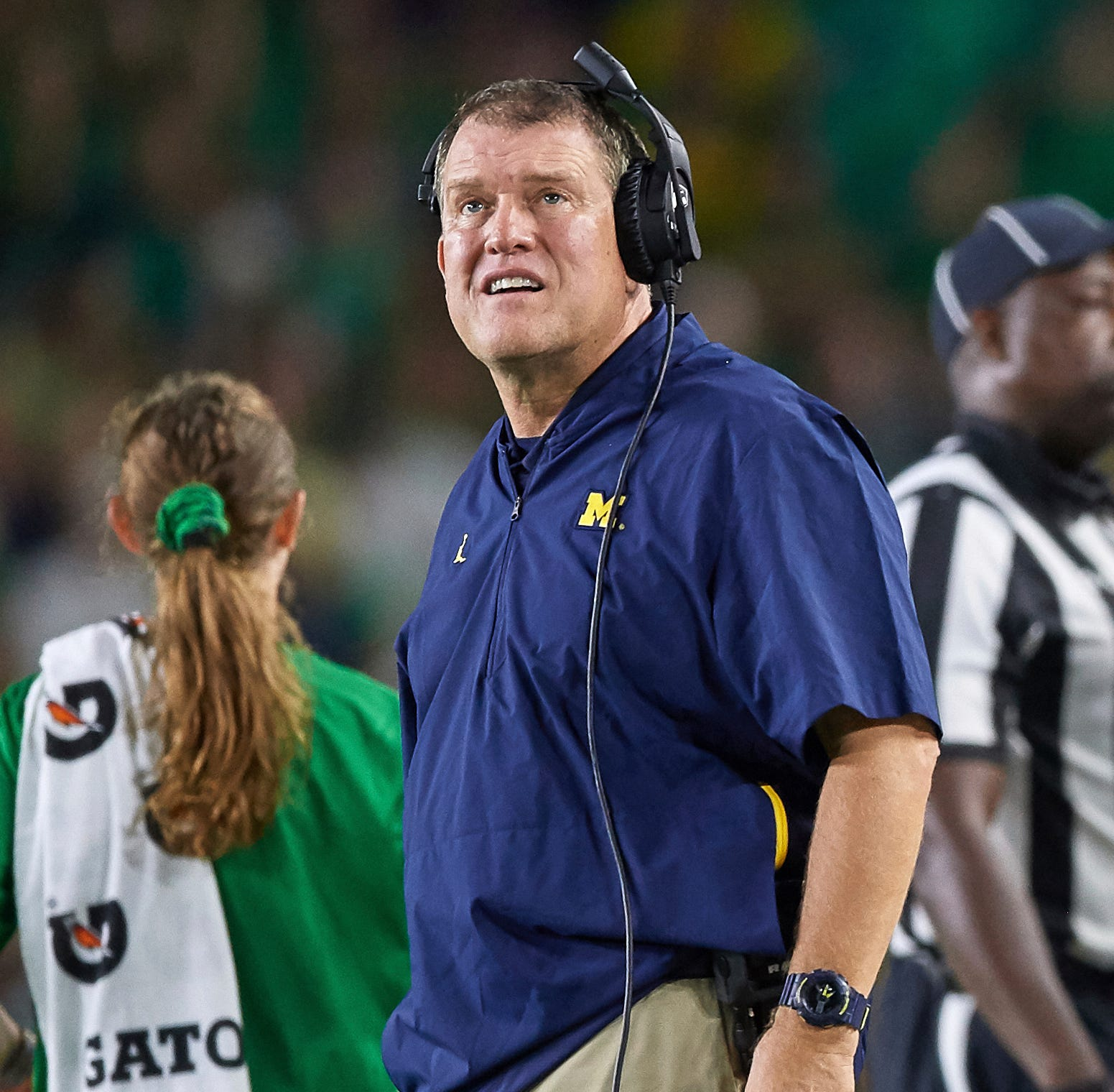 Michigan O-line improves under Ed Warinner's tutelage