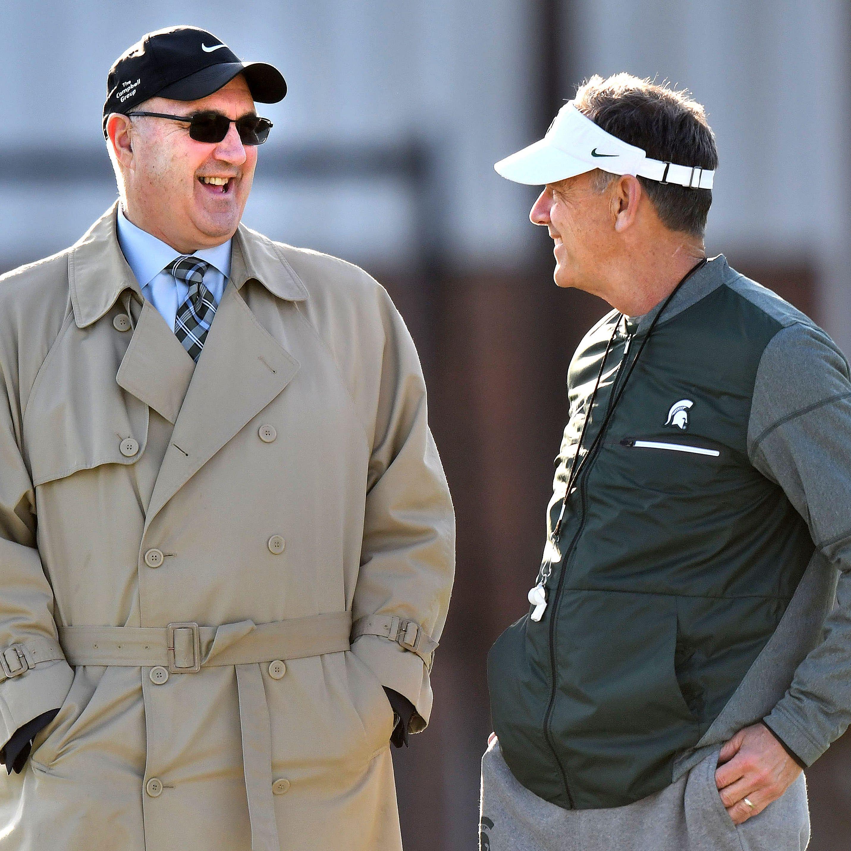 Michigan State deputy athletic director Greg Ianni announces retirement