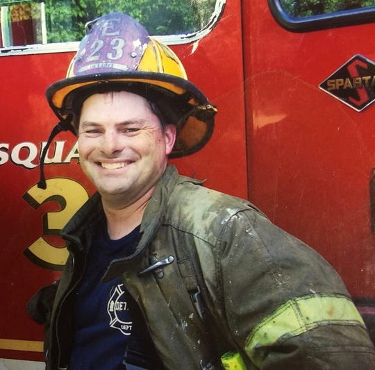 Veteran Detroit Firefighter Michael Lubig died Monday after suffering a medical emergency while on the job.