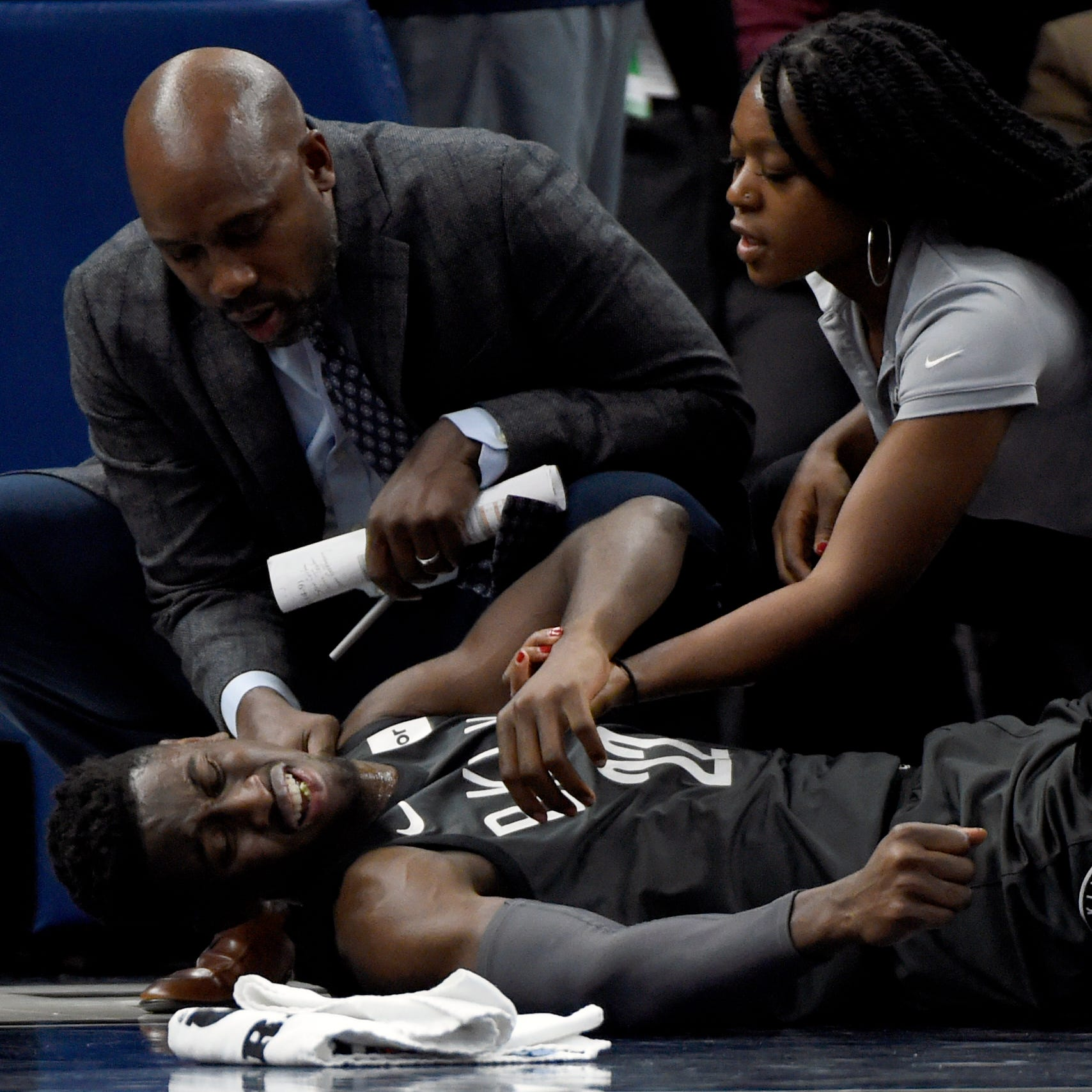 Former Michigan star Caris LeVert sustains gruesome injury