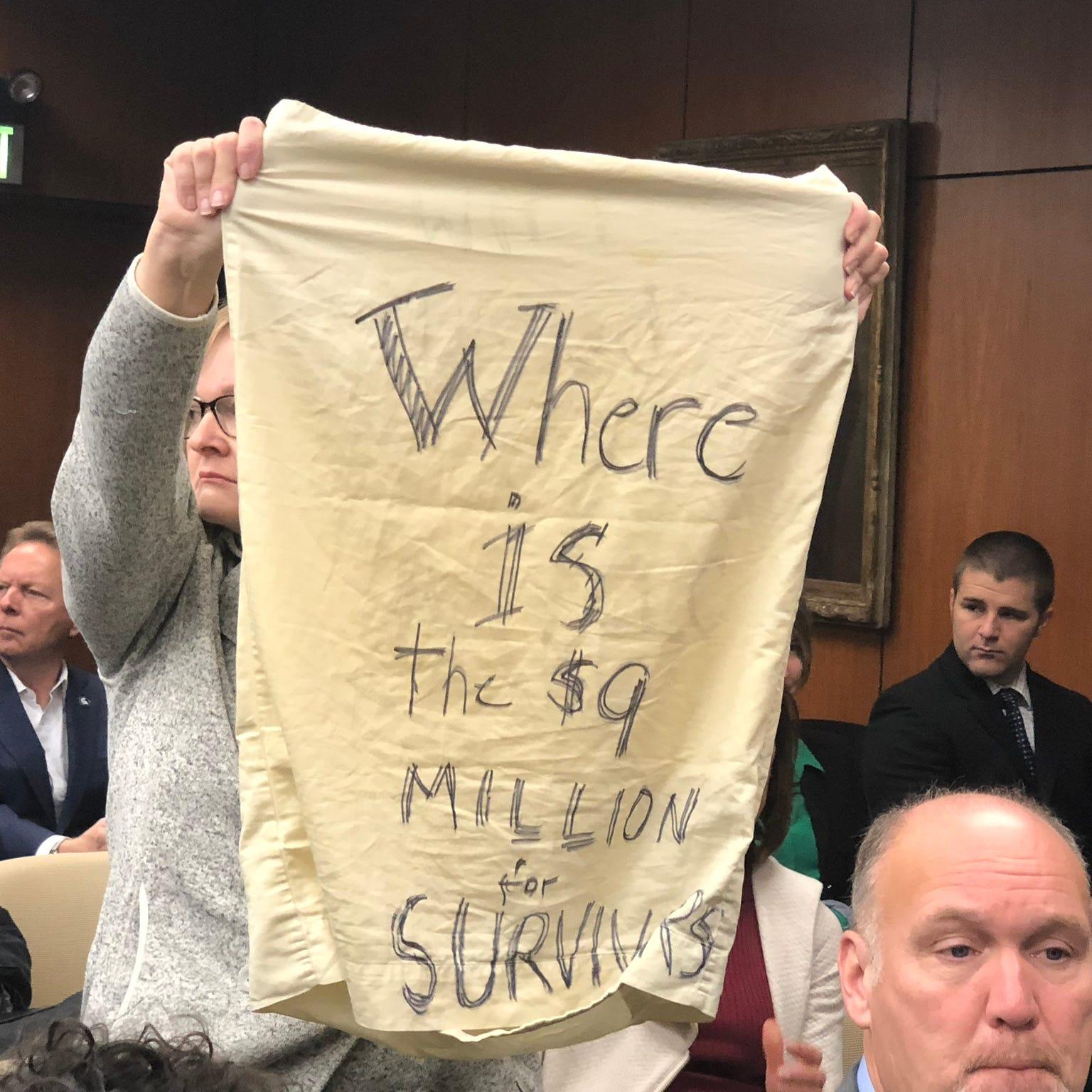 Nassar victims say MSU fund shutdown slows healing