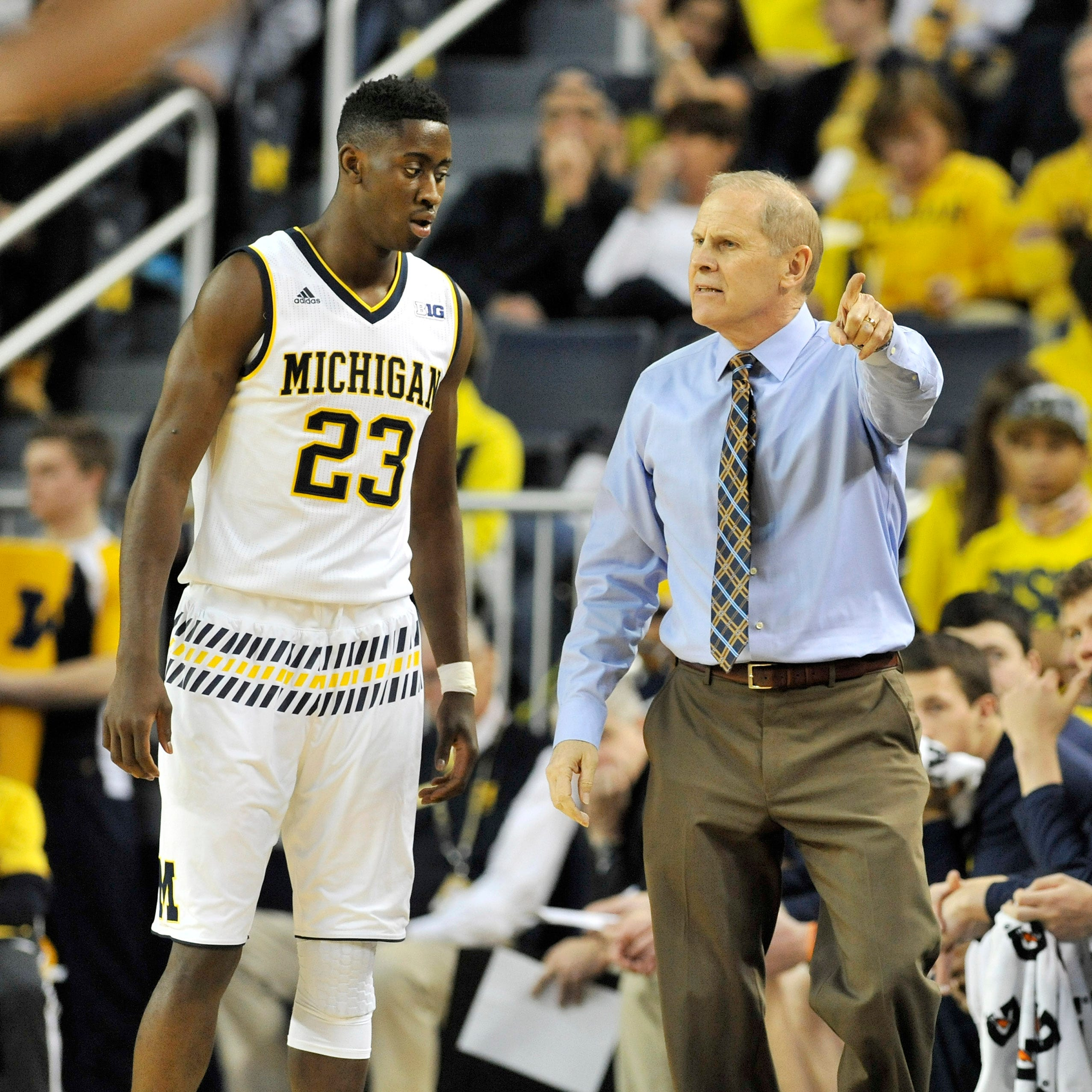 Caris LeVert's prognosis a relief for Michigan's John Beilein