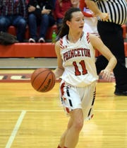Princeton sophomore Hannah Sisk already has an IBCA Player of the Week honor under her belt.