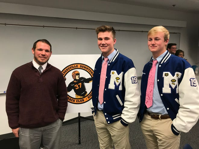 Patrick Mallory, Branson Combs and Michael Lindauer all rank in the state's top 10.