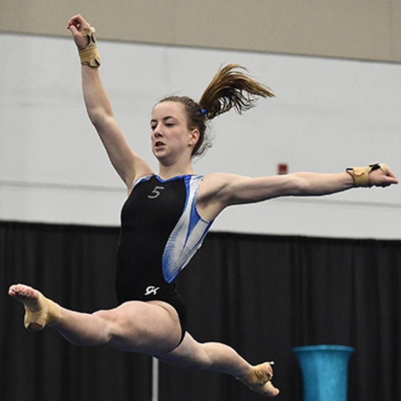 Castle senior gymnast Kassidy Howell to compete at the University of Kentucky