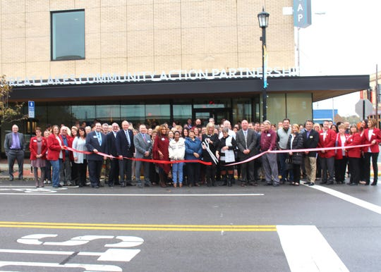 WSOS Community Action Commission announced a name change to Great Lakes Community Action Partnership when the organization moved into its new headquarters at 127 S. Front St. in Downtown Fremont.