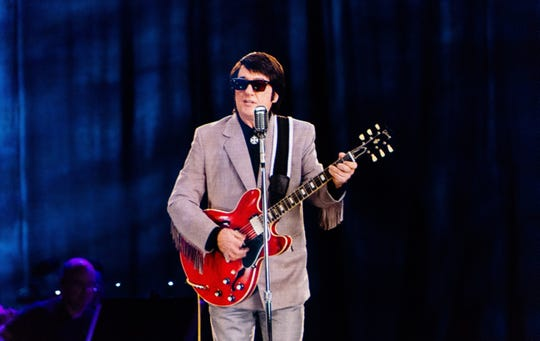 "A hologram version of the late Roy Orbison stars in the new tour ""In Dreams: Roy Orbison In Concert - The Hologram Tour."""