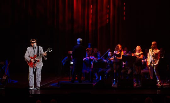 """A hologram version of the late Roy Orbison stars in the new tour """"In Dreams: Roy Orbison In Concert - The Hologram Tour."""""""