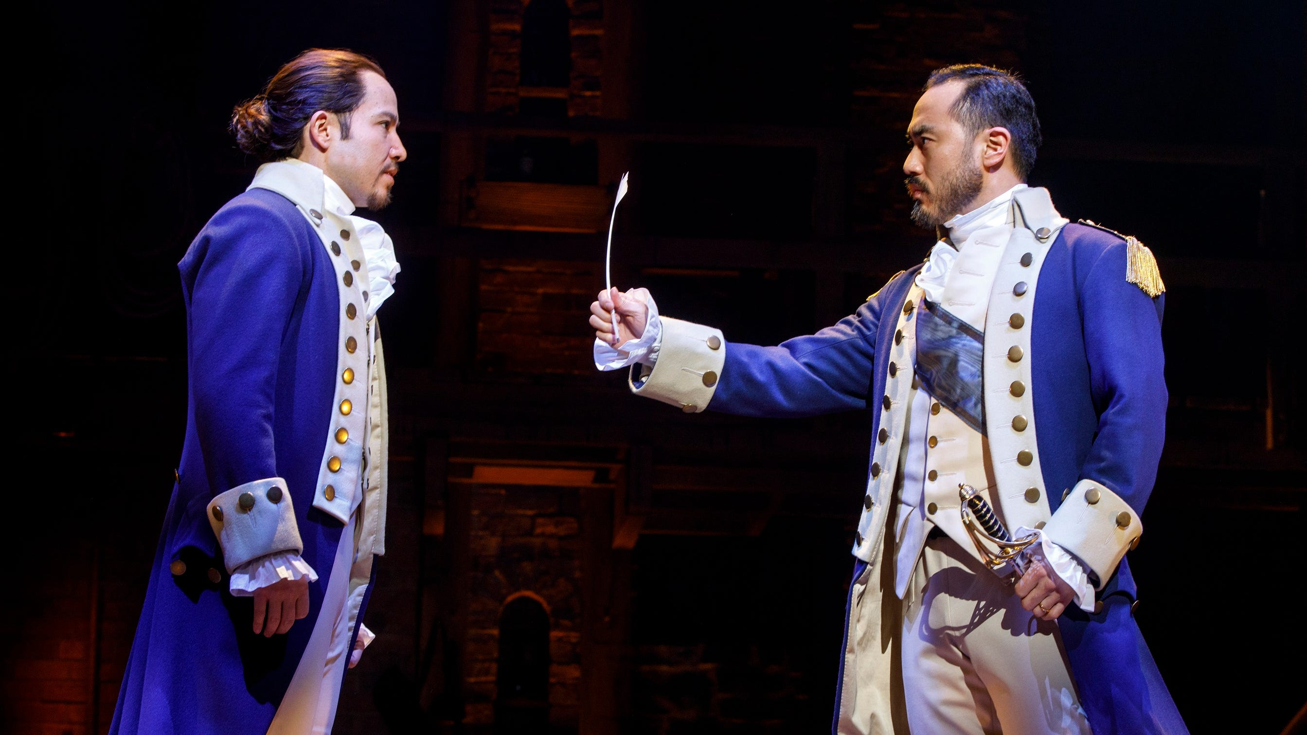 Gone: tickets for 'Hamilton'