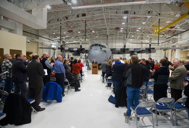 The Montana Air National Guard hosts a fifth anniversary ceremony for the Veterans Treatment Court on Tuesday morning.