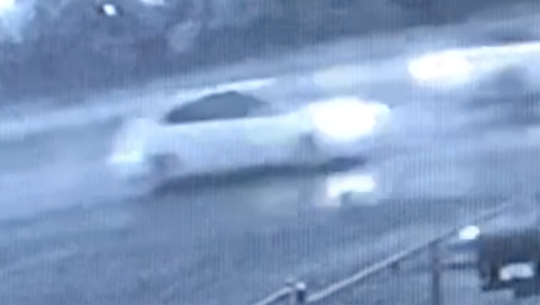 Hattiesburg police are looking for the driver of this car, whose driver may have information that could help the investigation into a fatal collision early Tuesday, Nov. 13, 2018.