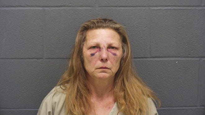 Sheila Ridenour, 55, was arrested Monday on charges of murder and failing to report a dead body, according to the Montgomery County Sheriff's Office.