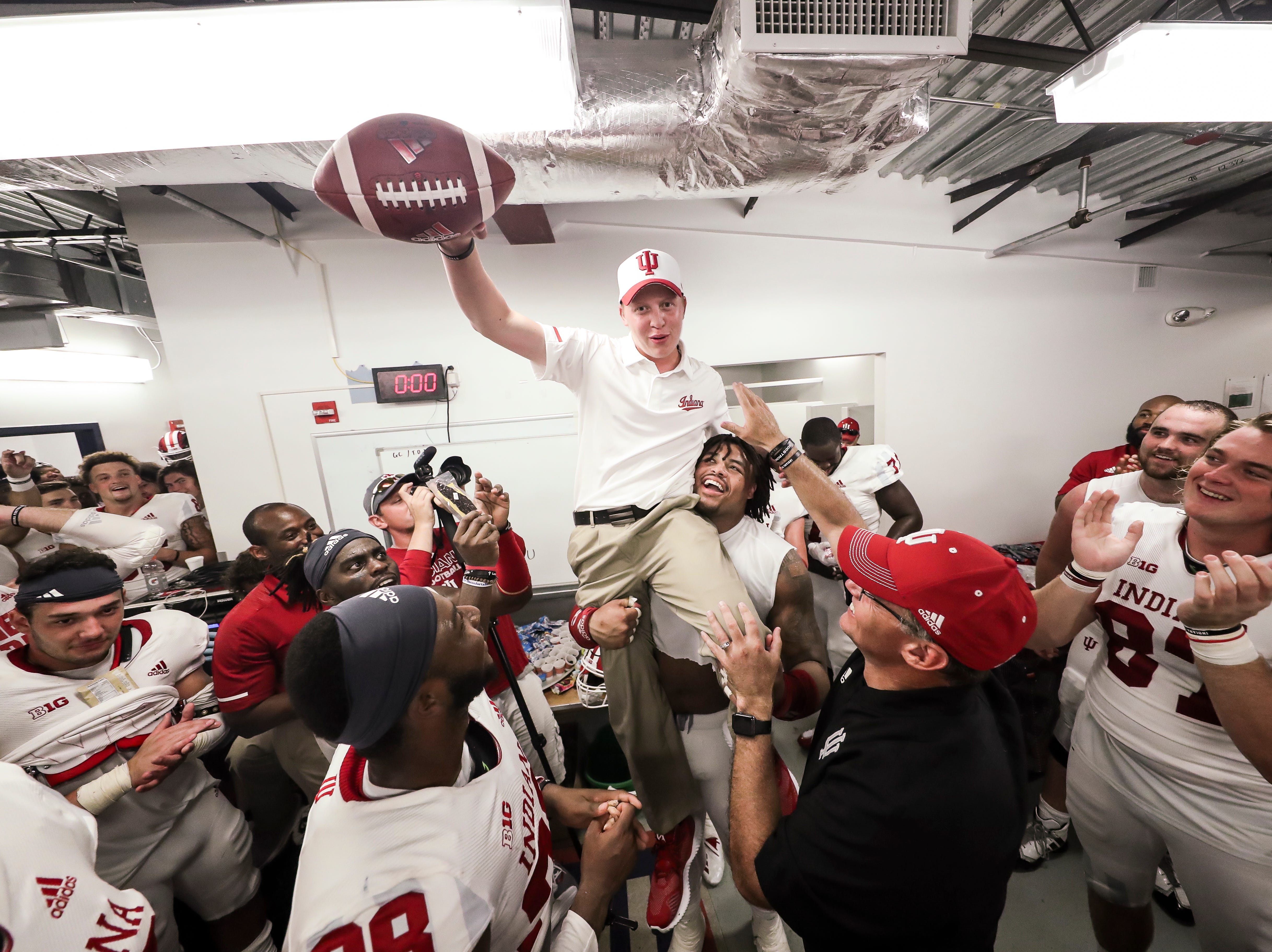 IU football manager who overcame Hodgkin's lymphoma: 'Told you I was going to beat this'