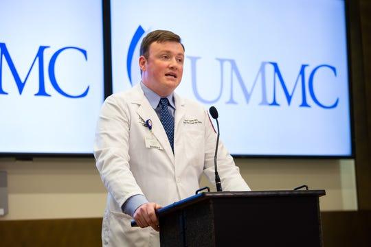Dr. Brad Ingram, UMMC associate professor of pediatric neurology and director of the Pediatric Comprehensive Epilepsy Program, is the principal investigator of the clinical drug trial.