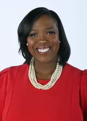Tanisha Jenkins, a 40 Under 40 honoree, Tuesday, November 13, 2018 at the News Sentinel.