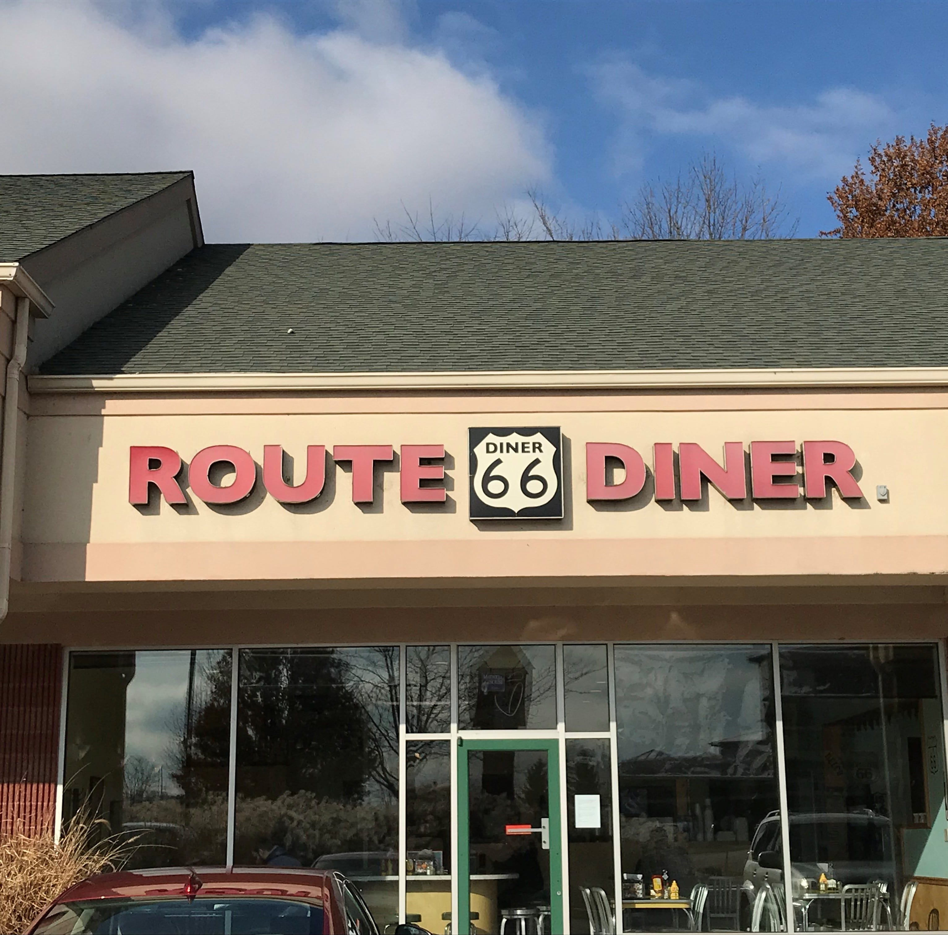 Route 66 will close after business hours Sunday