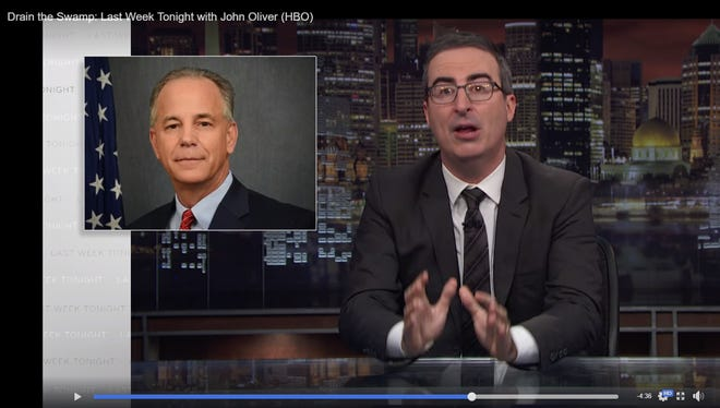 "Former Louisiana Lt. Gov. Scott Angelle was mocked in a Nov. 11 episode ""Last Week Tonight With John Oliver"" on HBO."