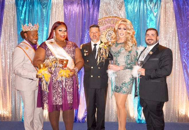 Olajuwan Alexander,Roxie C. Black, Michael Perioux, Blake Carriere and Adam Trahan