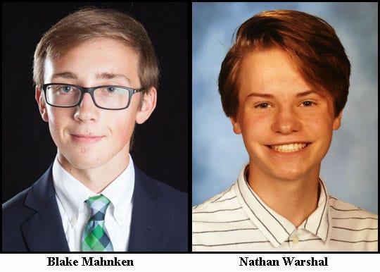 Pinckney's doubles team of Blake Mahnken and Nathan Warshal.