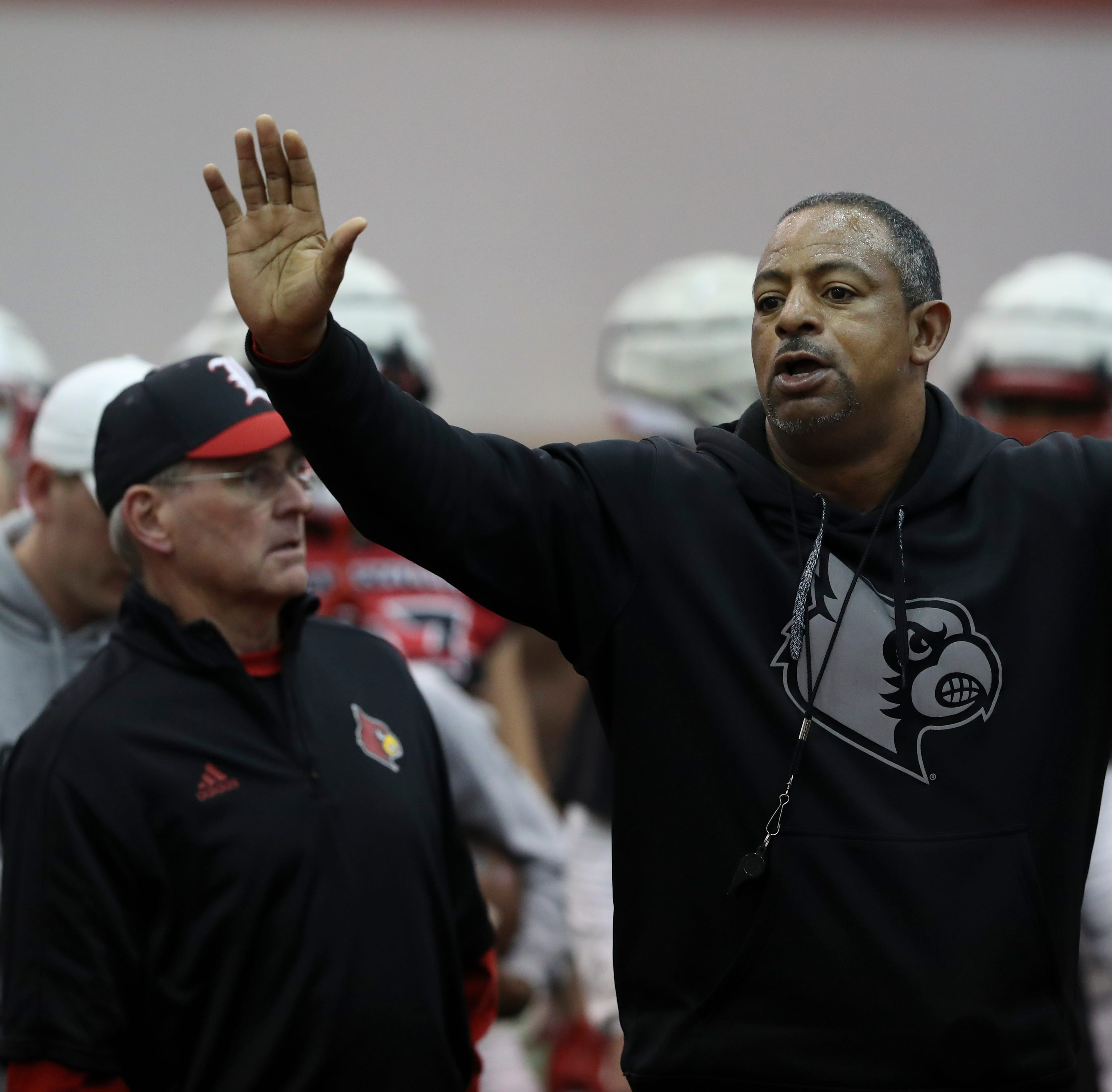 With 'cloud' lifted, a different Louisville football team appears