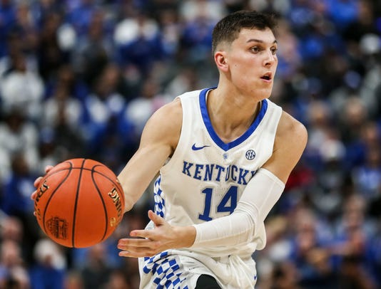 Tyler Herro Of Kentucky