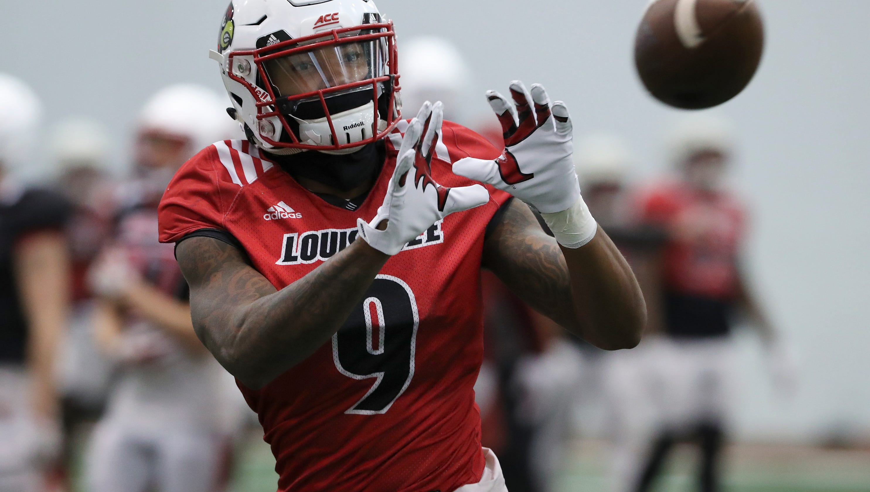 newest 7ef83 a3a57 Louisville football: Jaylen Smith at end of eventful journey
