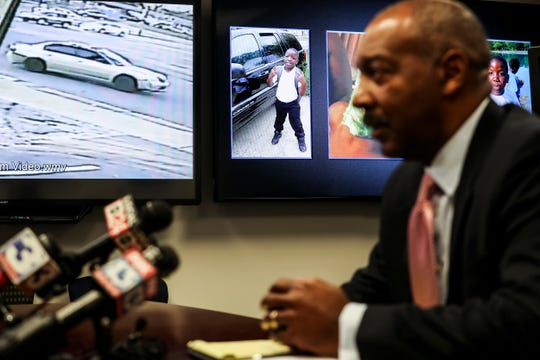 Memphis Police Department Maj. Lambert Ross talks Tuesday about the unsolved case of Richard Jordan III, a 10-year-old boy who was shot to death in a drive-by shooting one year ago.