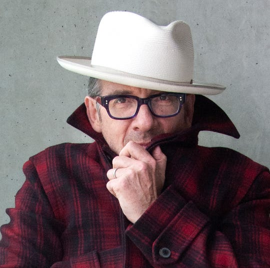 Man of mystery: Elvis Costello
